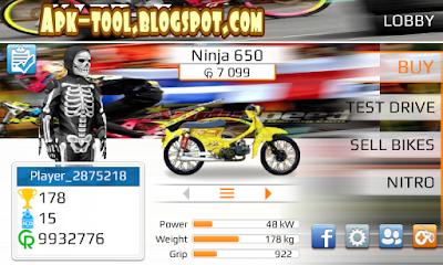 ialah game drag motor liar yg di indonesia Balap liar sangat di gandrungi anak muda Terbaru 2018 Drag Racing Mod Motor Indonesia (Apk Android)