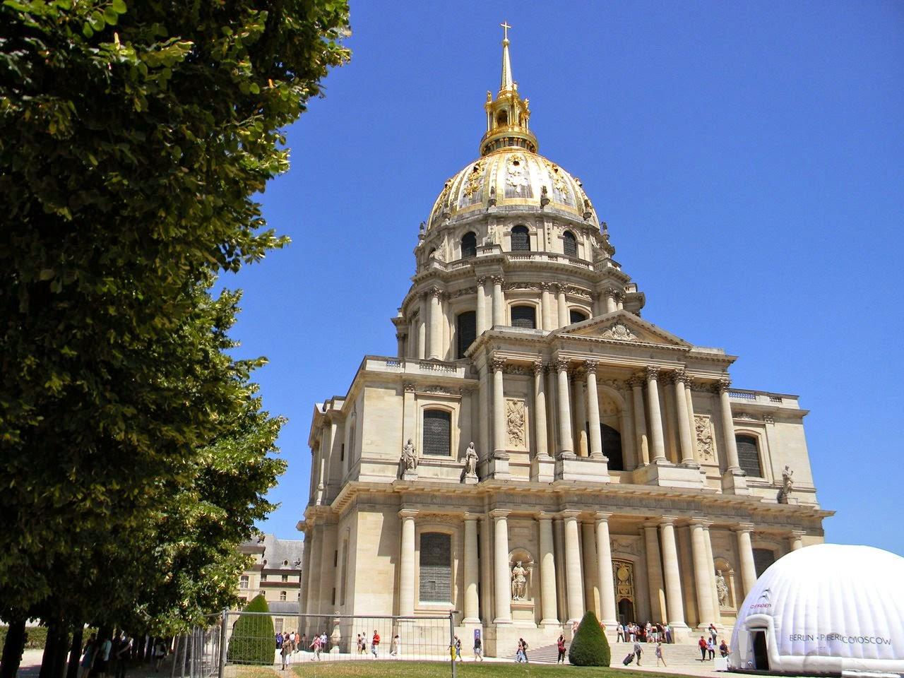 Napoleon, budowle, Paryż, Francja