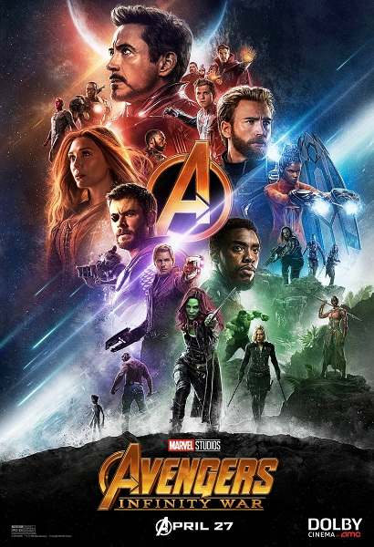 Avengers: Infinity War Dolby