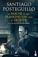 """Portada del libro """"La noche en que Frankenstein leyó El Quijote"""", de Santiago Posteguillo"""