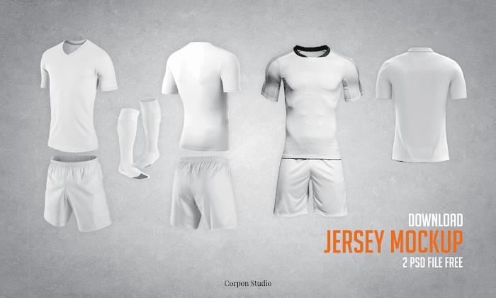 Download Download Gratis Mockup Jersey PSD Terbaru | Jago Desain
