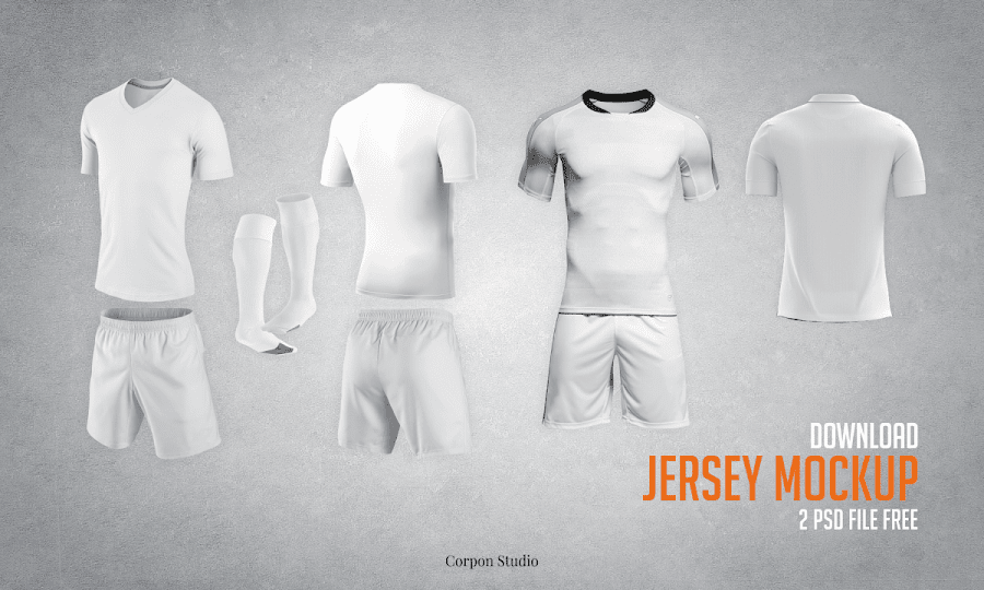 Download Download Gratis Mockup Jersey PSD Terbaru | Jago Desain
