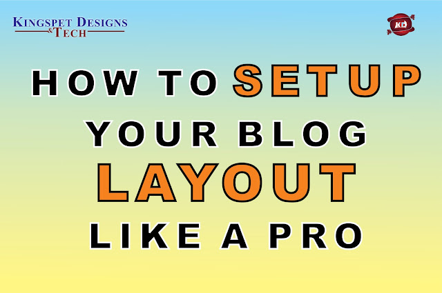 How to Set Up Your Blog Layout