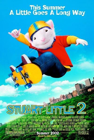 Poster of Stuart Little 2 (2002) 720p Hindi BRRip Dual Audio Full Movie Download