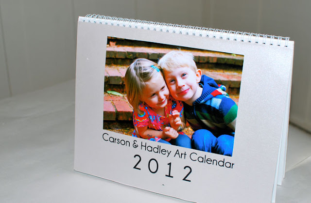 Kids Artwork Calendar