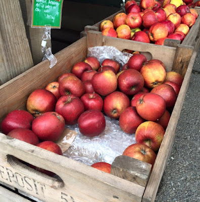 Apples for sale from Moorhouse Farm Shop Stannington, near Morpeth, Northumberland