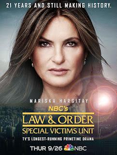 Ley y Orden: Unidad de Victimas Especiales Temporada 21