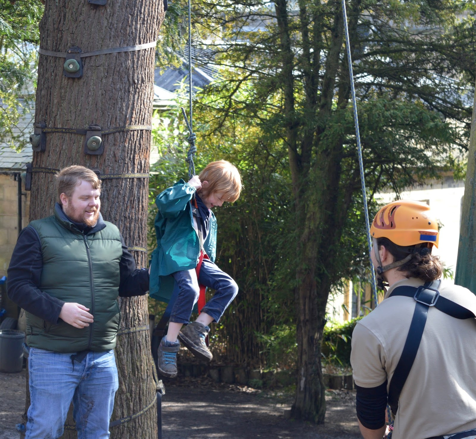 Beamish Wild | School Holiday Club & Activities in County Durham | North East England - tree creeper harness