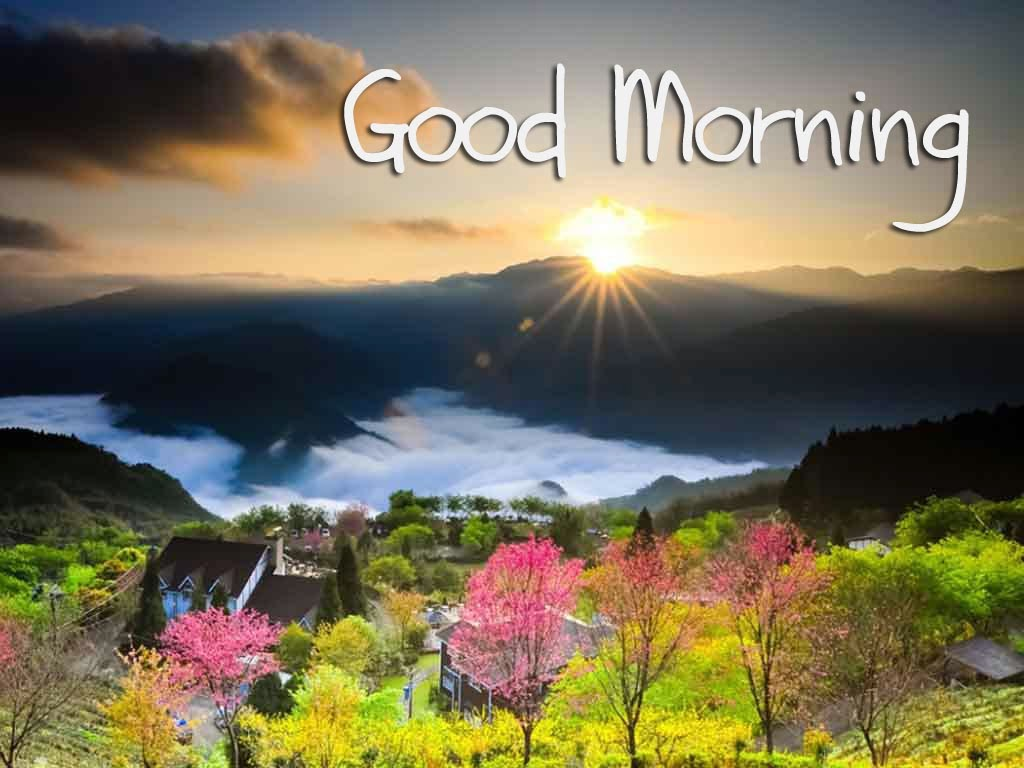 Beautiful Good Morning Wallpaper