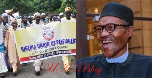 """""""You are the best; best administration in 14 years""""- Pensioners hail Buhari"""