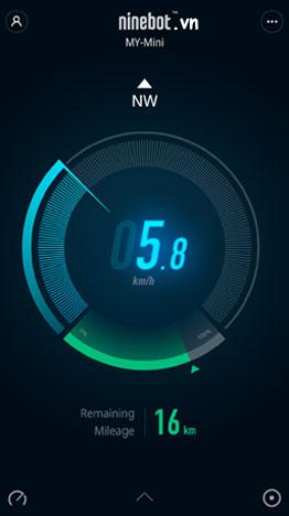 xe điện app xem tốc độ