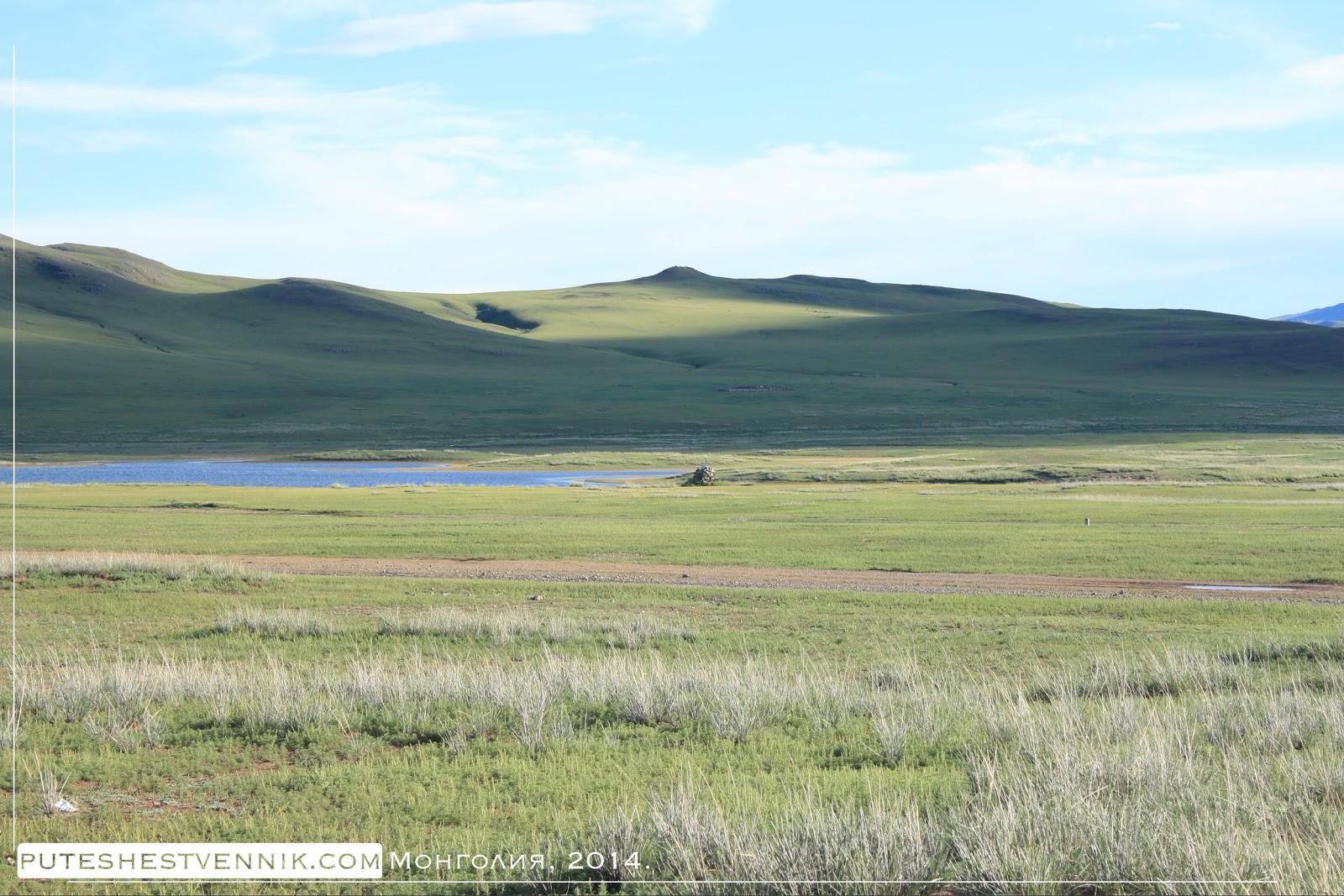 В монгольской степи