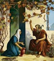 Elías y la viuda de Sarepta de Sidón