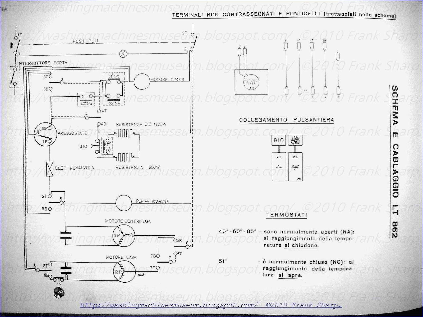 Washer Rama Museum: ZEROWATT MOD LT862 SCHEMATIC DIAGRAM