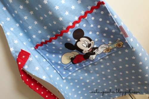 Avental - Mickey