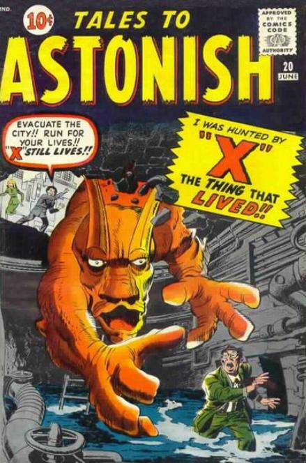 Tales to Astonish Jack Kirby