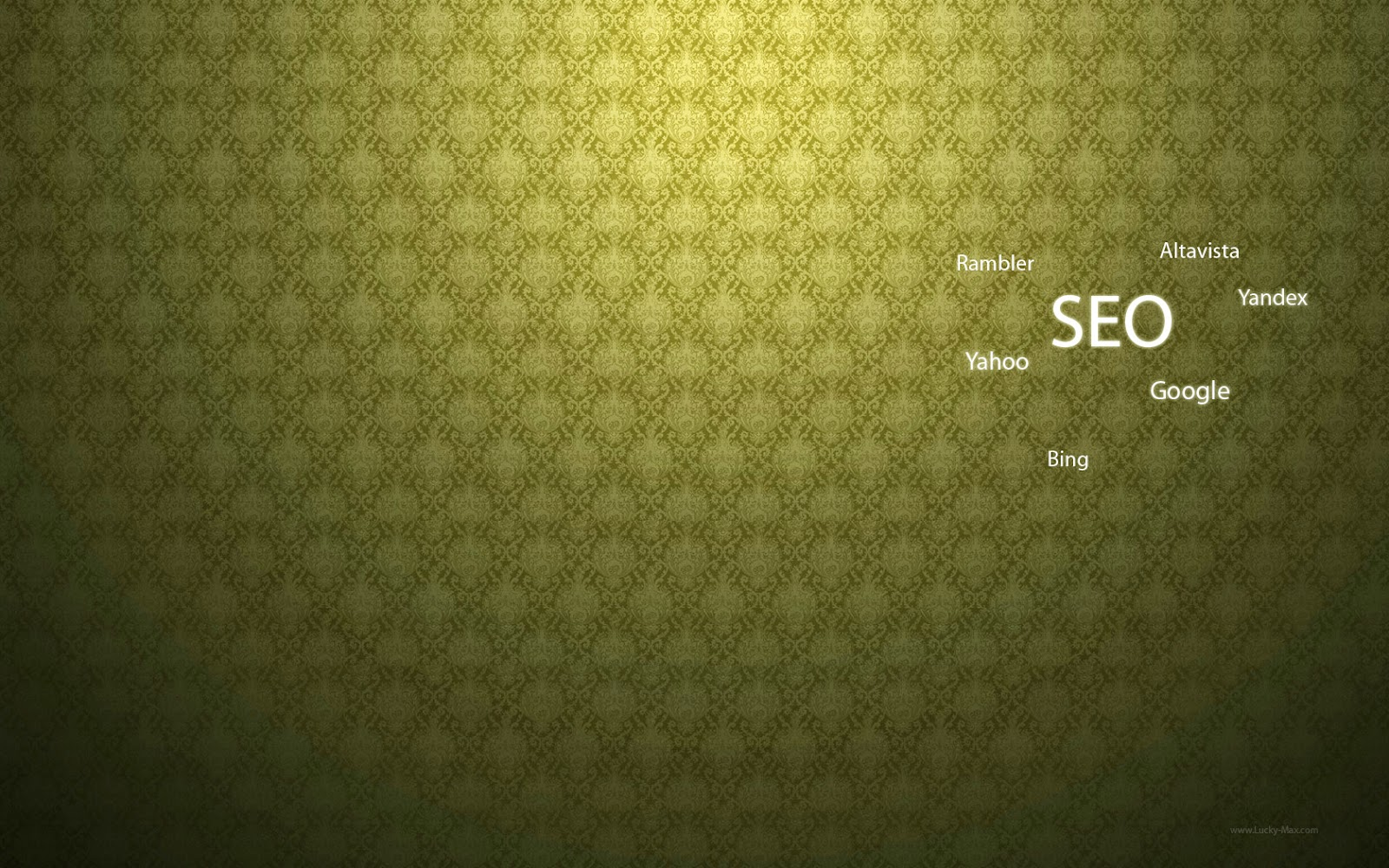 Golden SEO Wallpaper