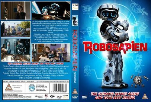 Robosapien: O Meu Melhor Amigo Torrent - BluRay Rip 720p e 1080p Dual Áudio (2016)