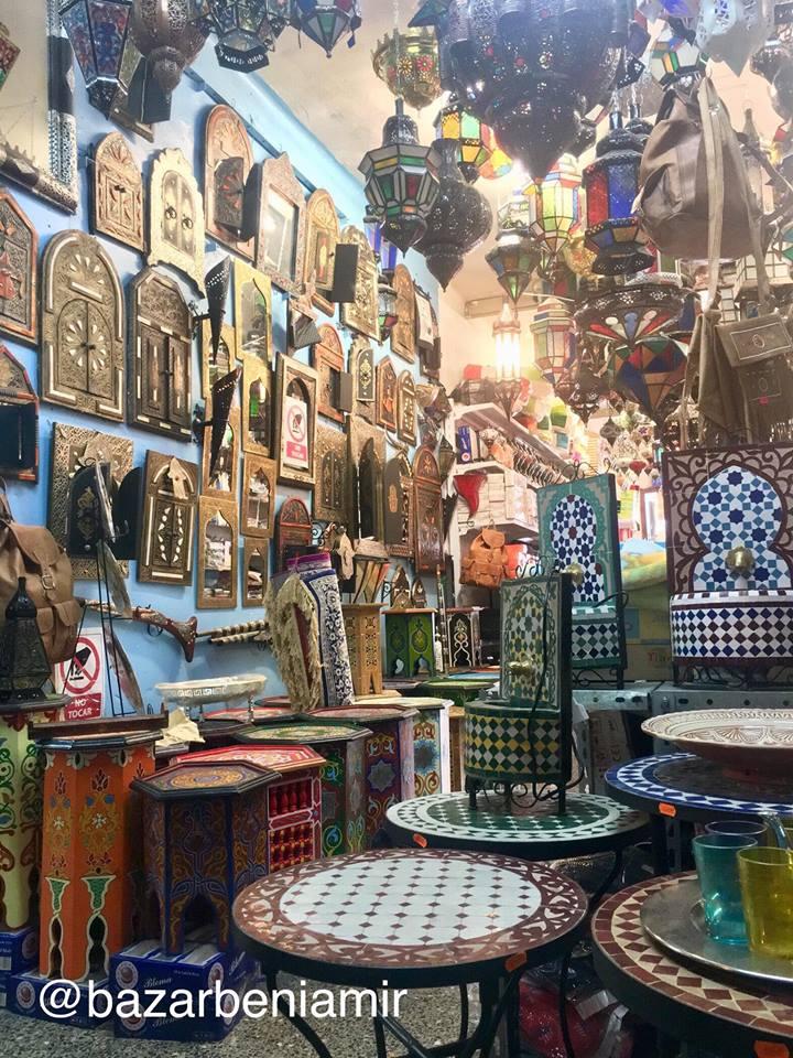 Bazar Beni Amir Artesanía Marroquí