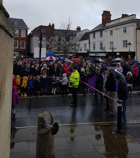 Abingdon Bun Throwing on the 10th November 2018