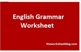 Noun worksheets for grade 1 and grade 2