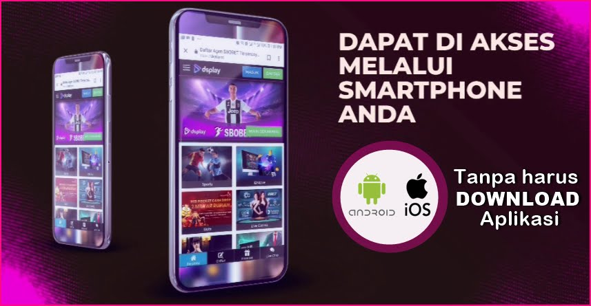 Akses Melalui Smart Phone