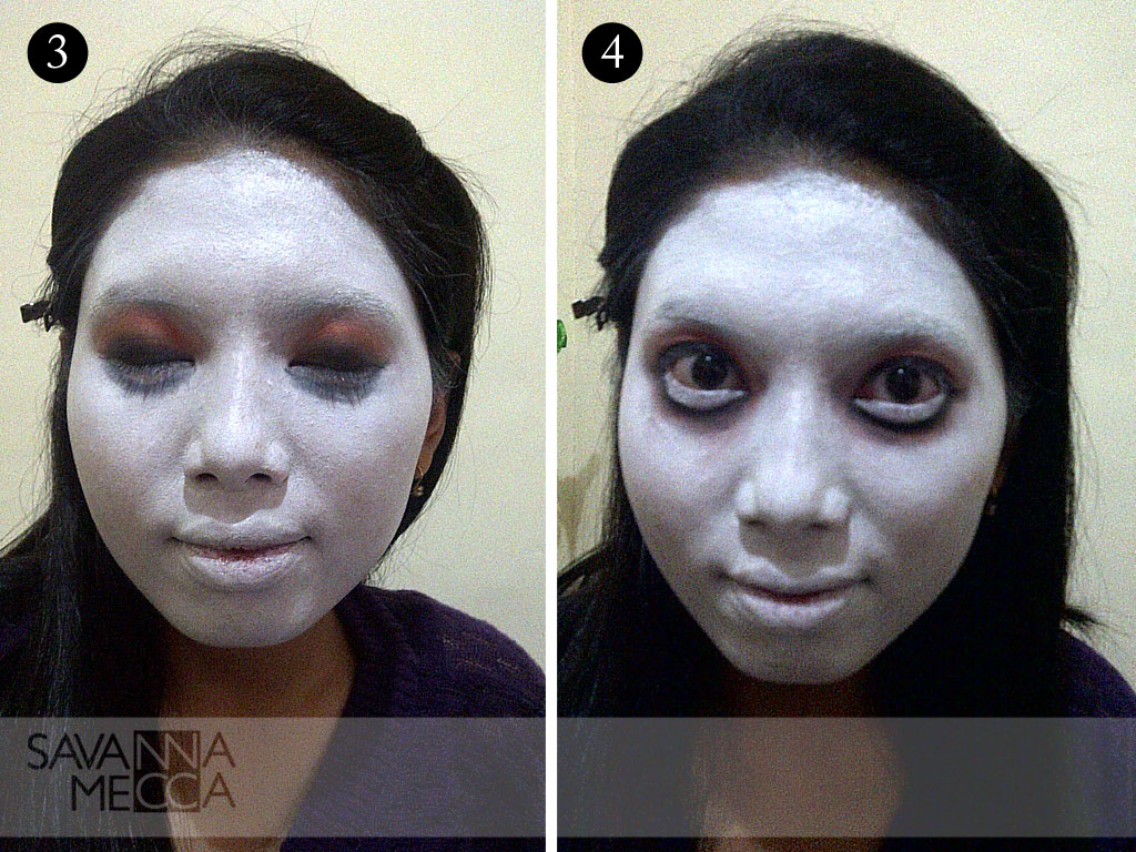 Ini Vindy Yang Ajaib: Tutorial Creepy Doll Hallowen Make Up