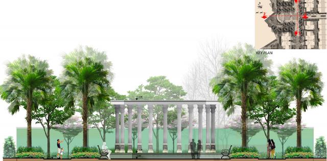 quảng trường dự án hateco 3 xuân phương