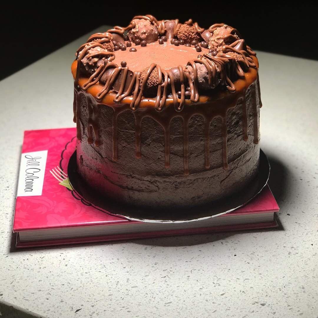 Nutella Hazelnut Cake Sedap Dari Resepi Kek Kafe Azie Kitchen