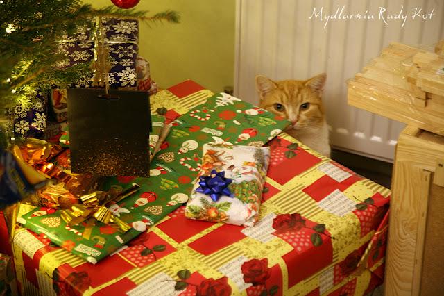 Rudy Kot w naszej mydlarni.