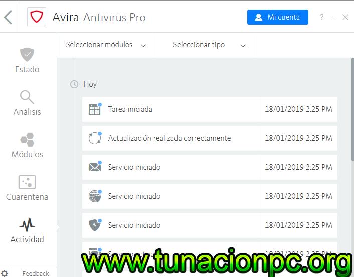 Descargar Avira AntiVirus Pro con Licencia Full Español