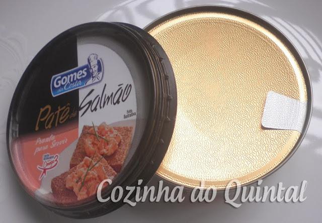Patê de Salmão Gomes da Costa