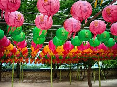 Corea del Sud lanterne