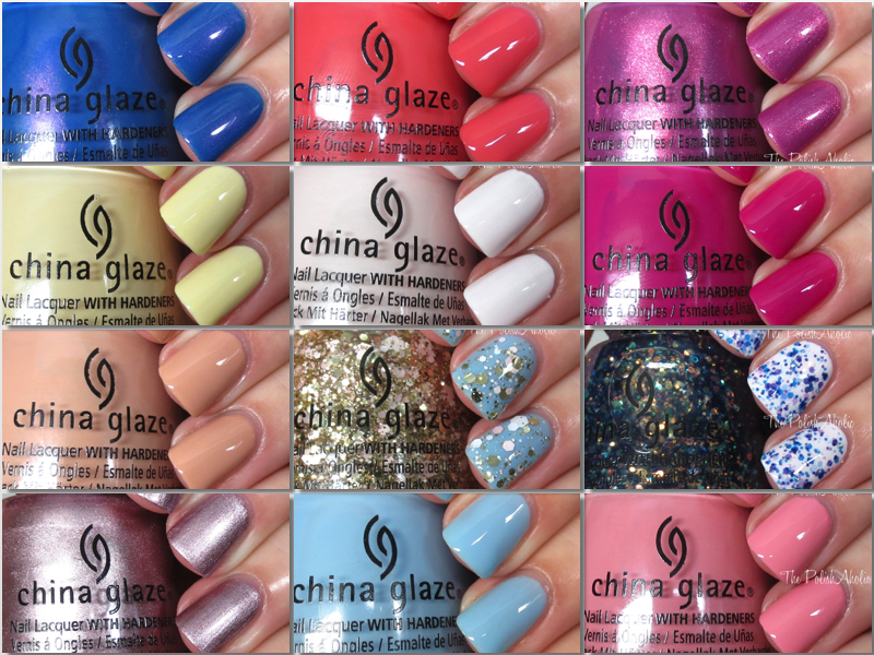 The PolishAholic: China Glaze Spring 2016 House of Colour Collection ...