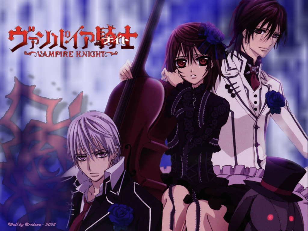 """All Vampire Animes the midnight carver: vampire knight, one of those """"girly"""