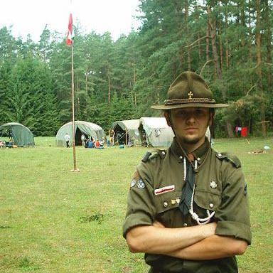 2003 rok - obóz VIII Rzeszowskiej Drużyny Harcerzy im. płk Leopolda Lisa-Kuli
