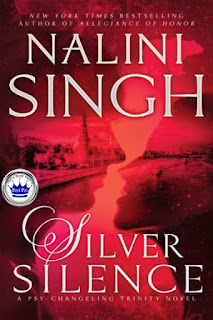paranormal romance, romance novel covers, Royal Pick, Silver Silence by Nalini Singh