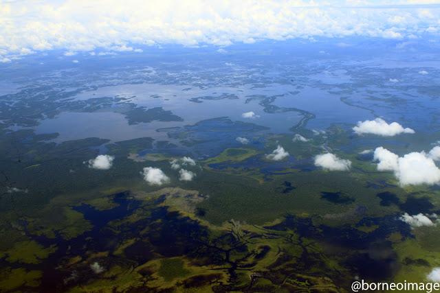 sentarum lake, heart of borneo, west kalimantan