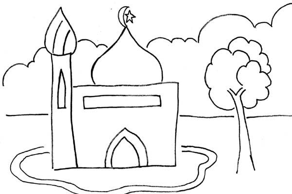 Catatanku Anak Desa Mewarnai Gambar Islami Untuk Tk