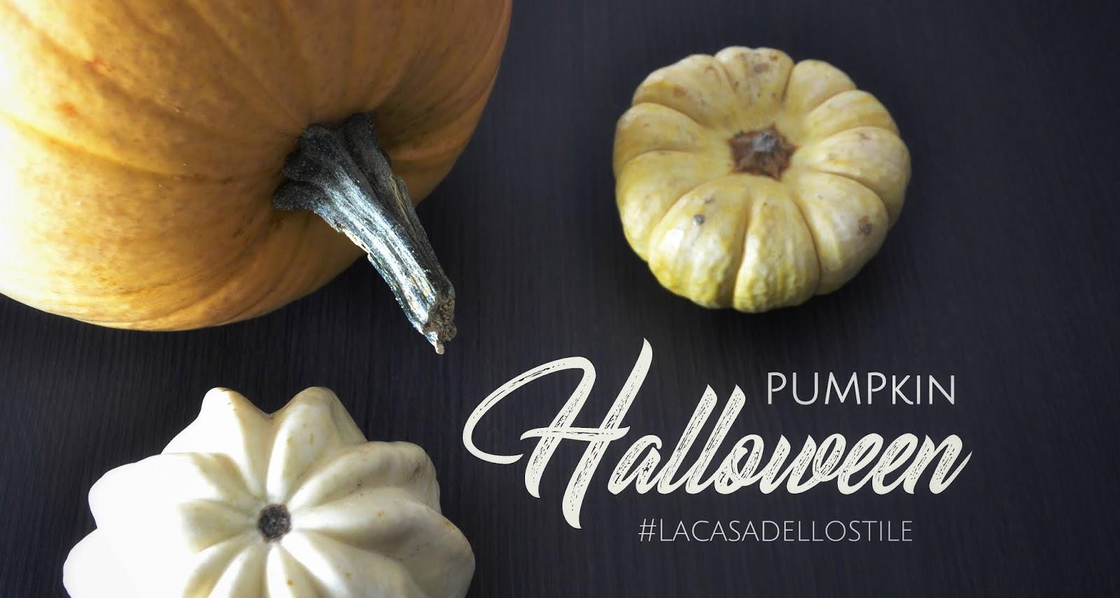La casa dello stile: Pumpkin Halloween