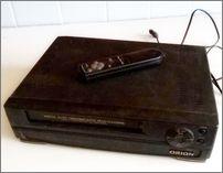 Старый VHS-проигрыватель