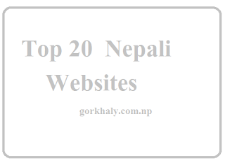 top 20 websites of nepal