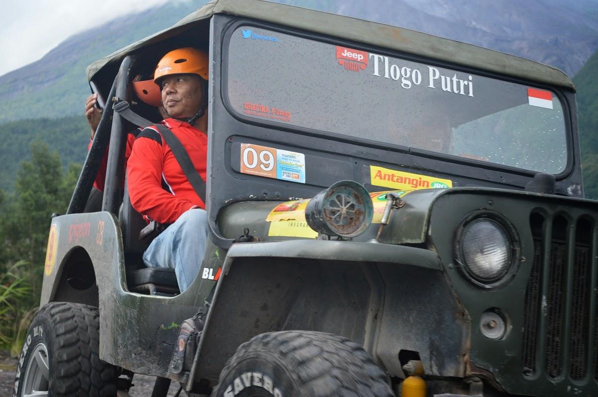 Jeep Offroad Merapi