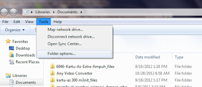 Tutorial Cara Menampilkan File Tersembunyi/File Hidden Pada Komputer