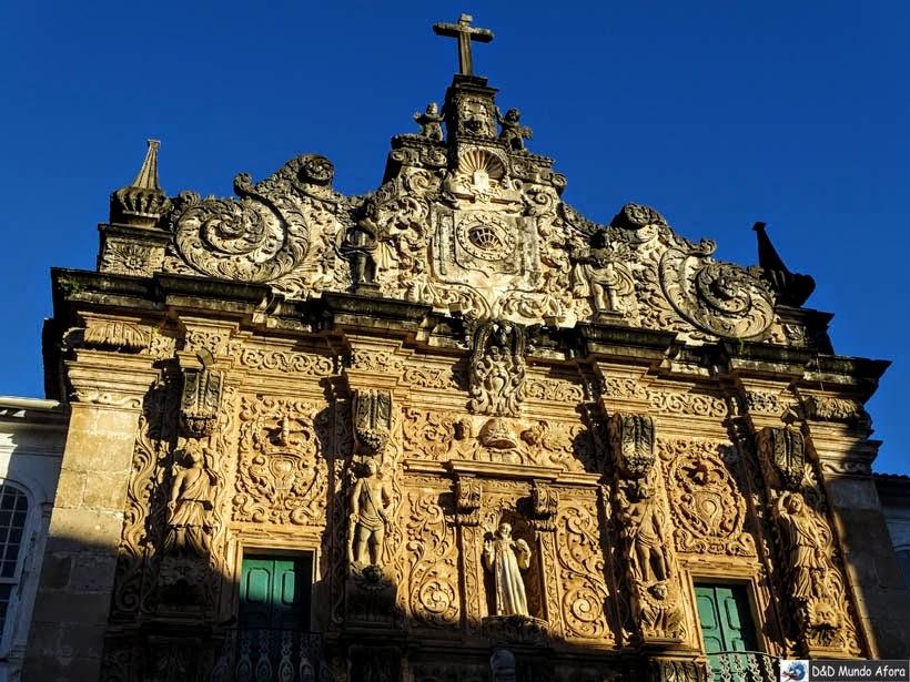 O que fazer no Pelourinho, Salvador (Bahia) - Igreja da Ordem Terceira Secular de São Francisco