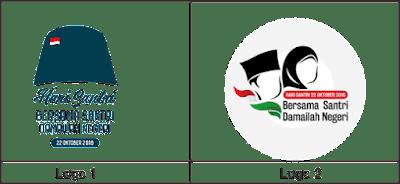 Download Kumpulan Logo dan Tema Hari santri 2018 Terbaru