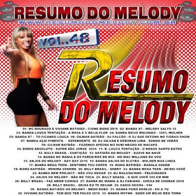 Cd Resumo do Melody vol.48 - Produção & Mixagens - Resumo do Melody