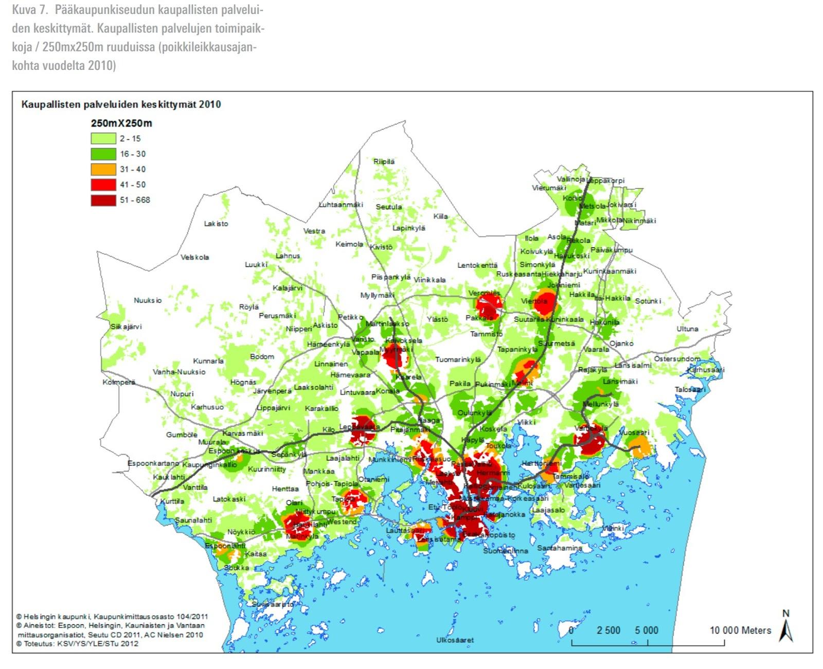 Paakaupunkiseudun Visuaaliset Kartat