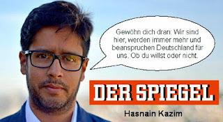 Исламский журналист в Германии