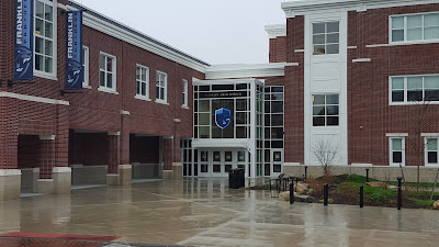 Community entrance to Franklin High School